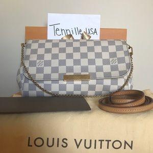 Louis Vuitton Favorite MM Azur